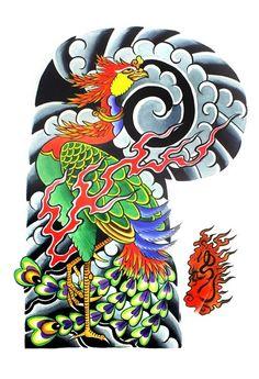"Garyou Tensei. 108 Japanese tattoo sleeve designs by Yushi ""Hori | 109 photos | VK"