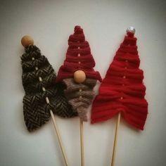 Tikku, kangas, joulukuusi