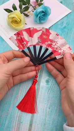 Diy Origami - Paper Fan - Basteln mit papier origami - You are in the right place about handcrafted gifts Here we offer you the most beautiful pictures a - Cool Paper Crafts, Paper Crafts Origami, Fun Crafts, Crafts For Kids, Kids Diy, Creative Crafts, Paper Crafting, Diy Crafts Hacks, Diy Crafts For Gifts