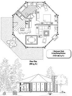 Plan # 9679 Special Features: 2 bedrooms, 2 full baths, 1 half ...