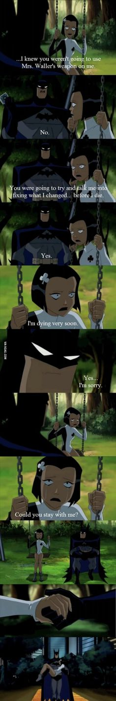 Thats why I like Batman the best! - Batman Funny - Funny Batman Meme - - I seriously started bawling when I watched this. How can anyone not love Batman? D'X The post Thats why I like Batman the best! appeared first on Gag Dad. Young Justice, Cinema Art, I Am Batman, Funny Batman, Batman Stuff, Future Batman, Nananana Batman, Justice League Unlimited, Bruce Timm