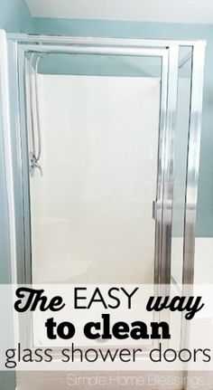 How To Clean Calcium Scale Buildup On Glass Shower Doors Shower Doors Natural And Products
