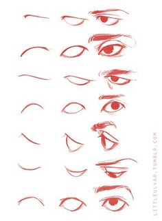29 Ideas Eye Drawing Tutorial Sketches Design Reference For 2019 Realistic Eye Drawing, Body Drawing, Anatomy Drawing, Figure Drawing, Drawing Faces, Eye Drawings, Cartoon Drawings, Drawing Eyebrows, Smile Drawing