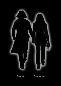 Severus and Hermione by katieelizabethroth.deviantart.com on @deviantART