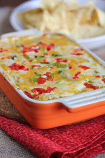 Mrs. Regueiro's Plate: Baked Tex-Mex Pimento Cheese Dip