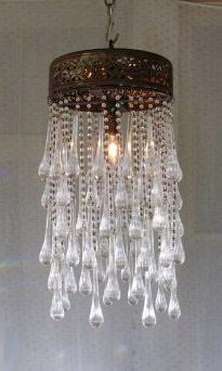 Trade Only Design :: Lola Chandelier with Muranos :: Chandi