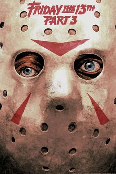 Jason Voorhees-Friday The Part Horror Icons, Horror Movie Posters, Movie Poster Art, Horror Films, Friday The 13th Poster, Jason Friday, Horror Photos, Classic Horror Movies, Arte Horror