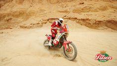 Rally Dakar 2013: Felipe Ríos, el mejor motociclista peruano en carrera.