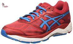 Gel-Dedicate 5, Chaussures de Course pour Entraînement sur Route Femme, Bleu (Indigo Blue/White/Diva Pink), 41.5 EUAsics