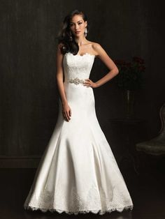 Allure Bridals 9059 Size 10 Used Nearly Newlywed