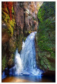Frozen Falls - Ardspach, Czech Republic