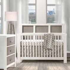 Rustico Moderno Convertible Crib