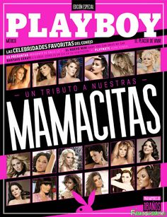 Kerry Kendal Playbloy Mexico: Especial Mamacitas Mayo 2014 [PDF Digital] | FamosasMex