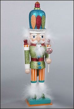 Kurt Adler Nutcracker....great for our collection