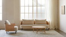 Our new Liana sofa collection reimagines rattan furniture for contemporary spaces. Available as a 2-seater, 3-seater and an armchair. Upholstered in New Zealand in your choice of fabric. Designed by industrial designer Scott Fitzsimons for Città. Sofa, Couch, Rattan Furniture, Industrial Design, Armchair, Sunday, Spaces, Contemporary, Spring