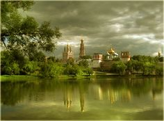 Novodevichy Convent. Moscow, Russia.