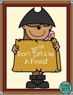 A Freebie for International Talk Like a Pirate Day!