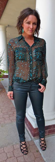 French Cuff Boutique: Daily Fashion Flash: Jaded in Jaguar