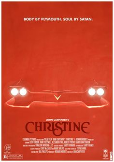 Christine poster by Cakes-and-Comics