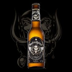 The coolest beer ever, Motörhead Bastards Lager!