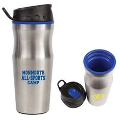 The Efficient stainless steel frame Non-spill sliding spout closure Padded base for maximum stability Curved lid for ease of use FDA compliant, BPA free, chemical resistant Available in: Blue, Red and Black Holiday Drinkware, Steel Frame, Stability, Water Bottle, Stainless Steel, Base, Closure, Red, Water Bottles