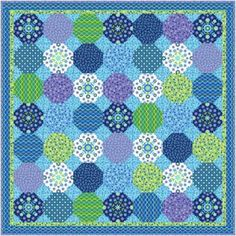 Quilt Inspiration: Free Pattern Day: Snowball Quilts Cute Quilts, Boy Quilts, Scrappy Quilts, Snowball Quilts, Circle Quilts, Quilt Blocks, Amish Quilts, Quilt Patterns Free, Free Pattern