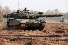 Leopard 2A6-gevechtstank. Als onderdeel van de samenwerking met Duitsland brengt Nederland zijn 16 resterende tanks in. (Foto: Ministerie van Defensie)
