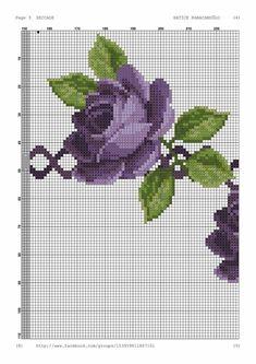 Cross Stitch Rose, Cross Stitch Flowers, Cross Stitch Charts, Cross Stitch Patterns, Cross Stitching, Cross Stitch Embroidery, Blackwork, Fair Isle Pattern, Prayer Rug