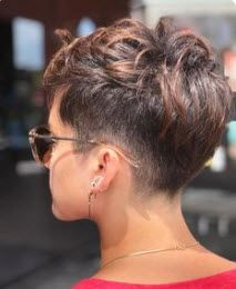 Today we have the most stylish 86 Cute Short Pixie Haircuts. We claim that you have never seen such elegant and eye-catching short hairstyles before. Pixie haircut, of course, offers a lot of options for the hair of the ladies'… Continue Reading → Short Pixie Haircuts, Short Hairstyles For Women, Undercut Pixie Haircut, Haircut Short, Short Hair With Undercut, Casual Hairstyles, Undercut Hairstyles, Medium Hairstyles, Pixie Haircut For Thick Hair Wavy