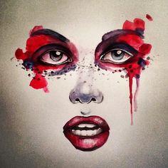 Watercolor by stephenbateman54.deviantart.com on @deviantART