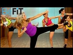 Denise Austin: Fat-Burning Cardio Walking Workout- Intervals - YouTube