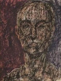 Mark Tobey * Self Portrait 1 * 1949