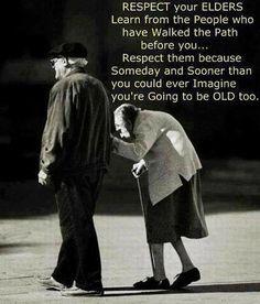 I love old folks