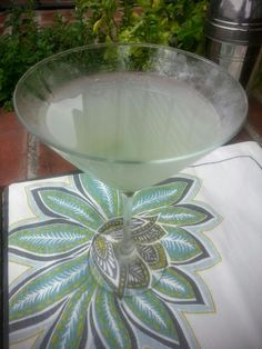 "The Recipe; To Be Or Not To Be: Parrothead Martini - ""It's 5:00 O'Clock Somewhere""... annefretz.blogspot.com  Sunsets and Cocktails"