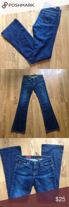 """Ag Jeans The Angel Ag Jeans """"The Angel"""" sz 27..inseam 33"""" Ag Adriano Goldschmied Jeans Boot Cut"""