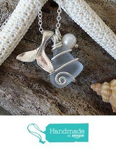 Genuine Hawaii surf tumbled sea glass, wire wrapped Hawaiian beach glass sea glass necklace .whale tail charm, fresh water pearl, sterling silver chain,gift box.beach jewelry. from yinahawaii https://www.amazon.com/dp/B01LX2G92F/ref=hnd_sw_r_pi_dp_2dWAybTBYMAAB #handmadeatamazon