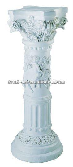 Coloana Ornamentala Din Beton In Stilul Grecesc Doric | Columns