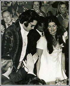 Elvis and Priscilla (US Jaycee Awards 1971)