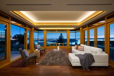 Modern Living Room | Westcoast contemporary home by Best Builders Ltd. | Ema Peter Photography