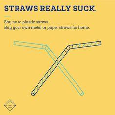 006 say no to plastic SayNoToPlastic Pinterest Plastic