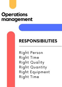 Operations Managementis of the most misunderstood field of management due to its multidisciplinary nature as it involves management of people, equipment, technology  #business #entrepreneur #marketing #success #motivation #money #love #entrepreneurship #startup #smallbusiness #businessowner #inspiration #instagood #mindset #lifestyle #instagram #digitalmarketing #work #life #goals #design #branding #follow Cost Of Production, Success Meaning, Supply Chain Management, Operations Management, Goods And Services, Business Entrepreneur, Business Management, Life Goals, Business Ideas