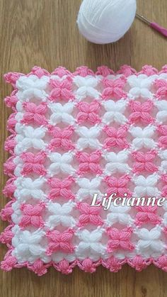 Lif Crochet Basket Pattern, Baby Knitting Patterns, Crochet Patterns, Bamboo Crafts, Crochet Baby Clothes, Crochet Stitches, Quilts, Blanket, Sewing