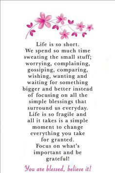 You Are Blessed Believe It quote life wisdom gratitude grateful thankful meaningful quotes blessed meaningful life quotes Blessed Quotes Thankful, Thank You Quotes Gratitude, You Are Blessed, Encouragement Quotes, Wisdom Quotes, Words Quotes, Sayings, Qoutes, Meaningful Quotes About Life