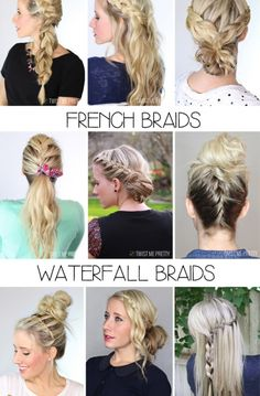 I've been planning today's post for awhile now and I'm super excited to finally be sharing it. How many of you struggle with the basic braids? From the comments I get on YouTube it's quite a few of you. And what good are any of the hairstyles I post if you don't understand the braids?! This is my fault. Today's video is going to explain the four basic braids that will help you achieve ANY hairstyle. We're going to move slow and I want you to pull your hair down and just follow along…