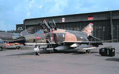 USAF F-4   Zweibruecken AB ( note- ZR Tail =Zweibruecken )