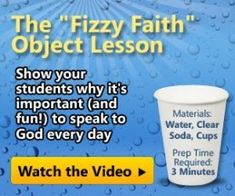 Interesting tools for the kids.Object Lessons for Sunday School - Understanding the Trinity - Christianity Cove Sunday School Activities, Church Activities, Bible Activities, Sunday School Crafts, Bible Resources, Group Activities, Bible Object Lessons, Bible Lessons For Kids, Bible For Kids