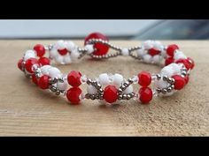 (Tutorial) Snowflake Road Bracelet DIY (Video 147) - YouTube