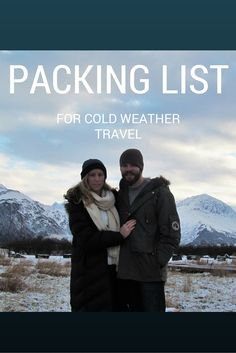 Adoration 4 Adventure's packing list recommendations for cold weather travel.