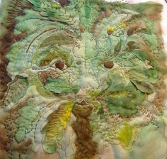 Greenman--Posted Stitches
