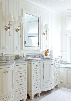 lampe et finition du bain